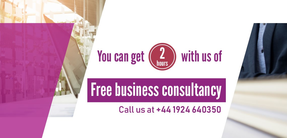 You can get 2 hours of free business consultancy!