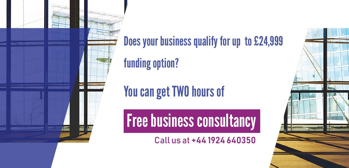 Does your business qualify for up to £24,999 funding option?